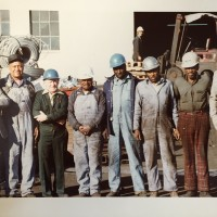 Photo of Pac Iron Yard Crew in the 1980s