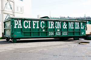 Photo of Pacific Iron & Metal Commercial Recycling Bin