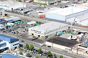 Photo of Ariel View of Pac Iron building