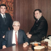 Photo of Pacific Iron and Metal founders: Doug, Earle and Jules Grant