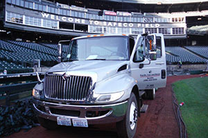 Pac Iron Truck at Safeco Field