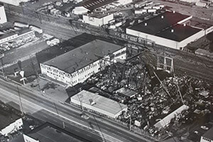 Photo of Historical Ariel View of Pac Iron building
