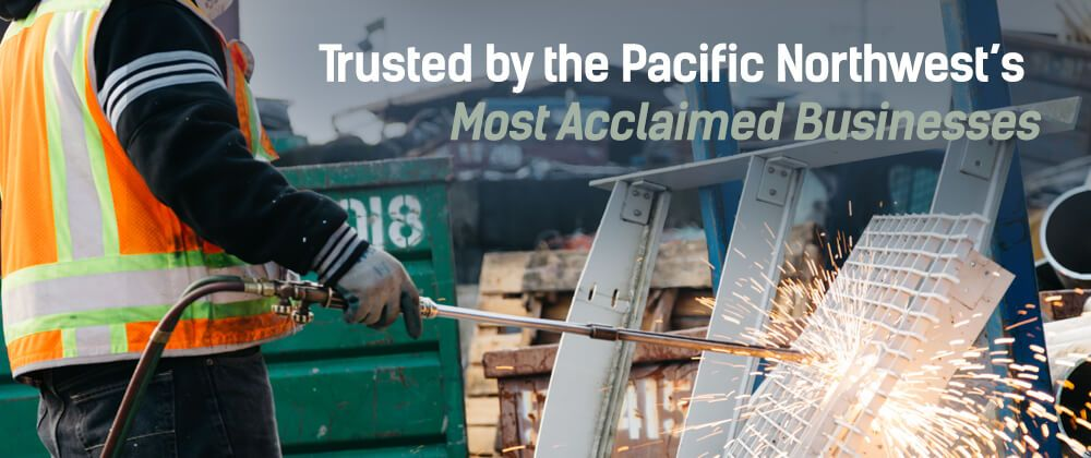 Trusted by the Pacific Northwest's most acclaimed businesses